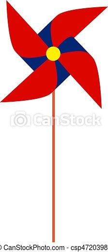 Toy windmill - csp47203988
