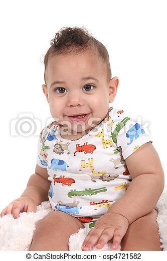 Stock foto van zuigeling baby jongen witte achtergrond baby csp4721582 zoek naar - Foto baby jongen ...