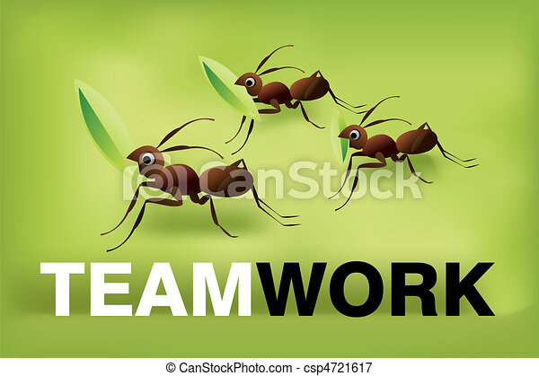 Team Work Spirit - csp4721617