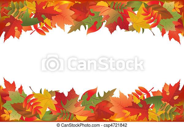 Fallen Leaves - csp4721842