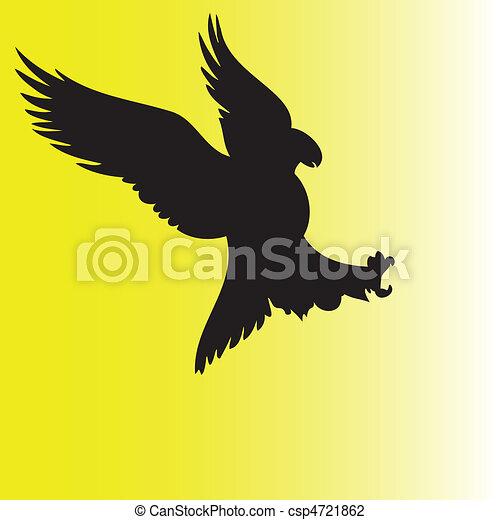 eagle action - csp4721862