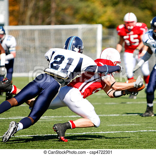 Football - Catch and Tackle - csp4722301