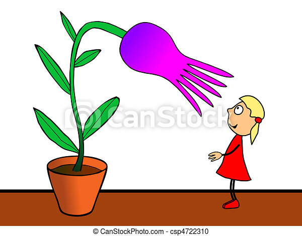 cultivation of flowers - csp4722310
