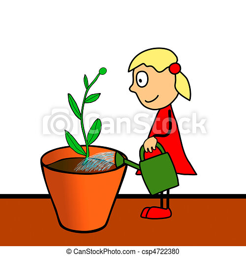 cultivation of flowers - csp4722380