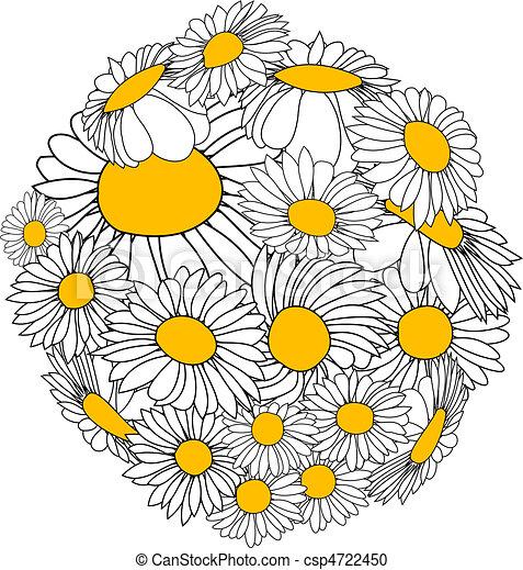 Flower sphere - csp4722450