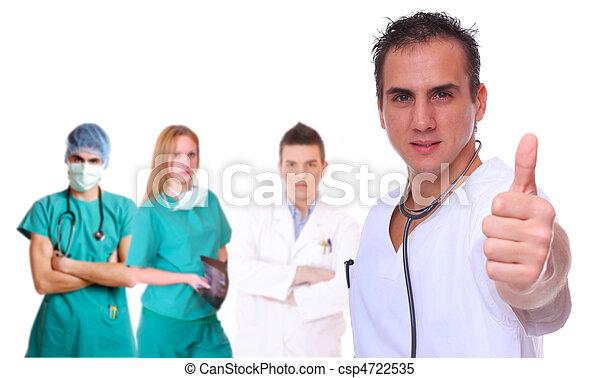 medical team - csp4722535