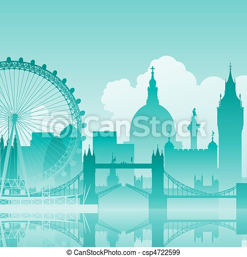 London Cityscape - csp4722599