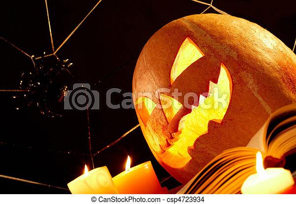 Halloween horror - csp4723934