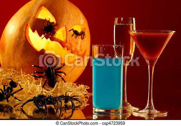 Poisonous drinks - csp4723959