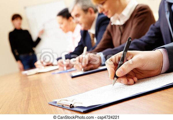 Business training - csp4724221