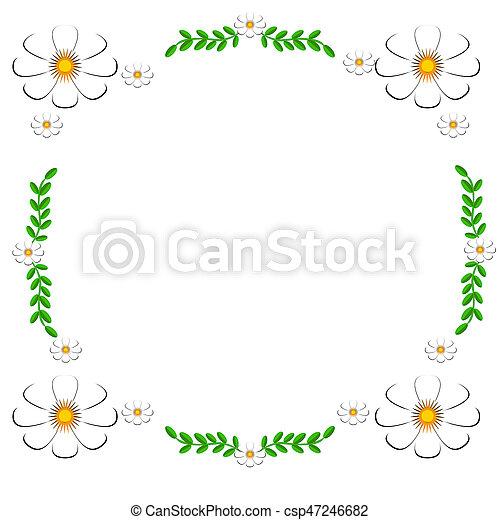 White Daisies - csp47246682