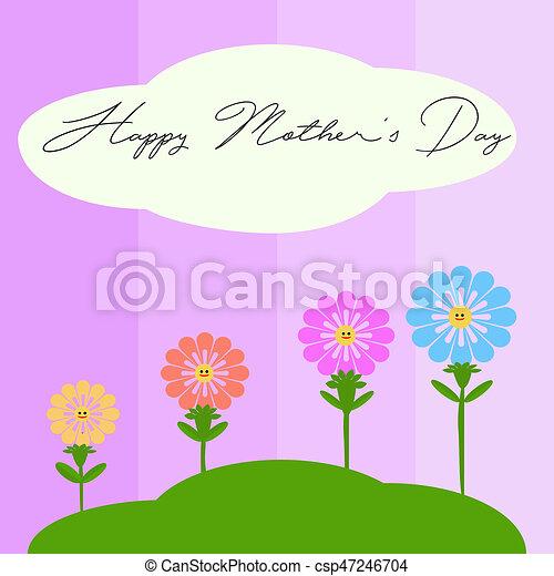 Happy Mother's day - csp47246704