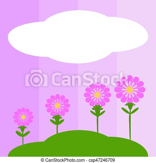 Pink flowers - csp47246709