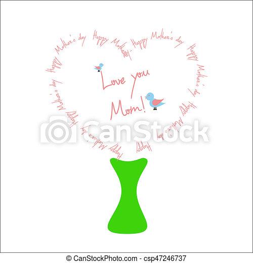 Happy Mother's day - csp47246737