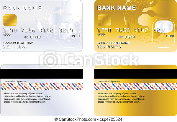 credit card - csp4725524