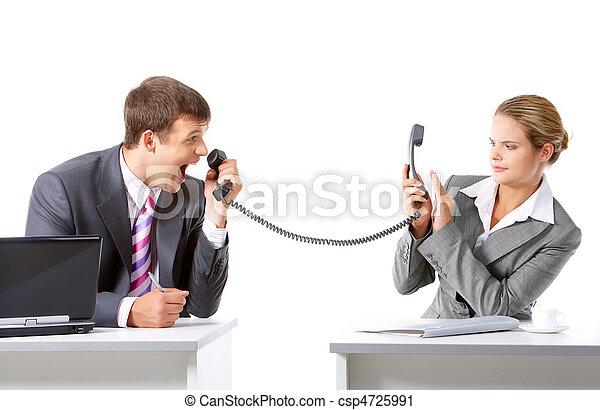 コミュニケーション, ビジネス - csp4725991