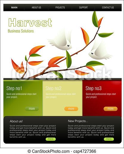 Website Template - csp4727366