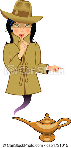 genie secret agent - csp4731015