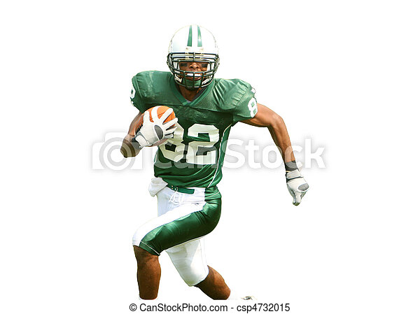 American Football Player - csp4732015