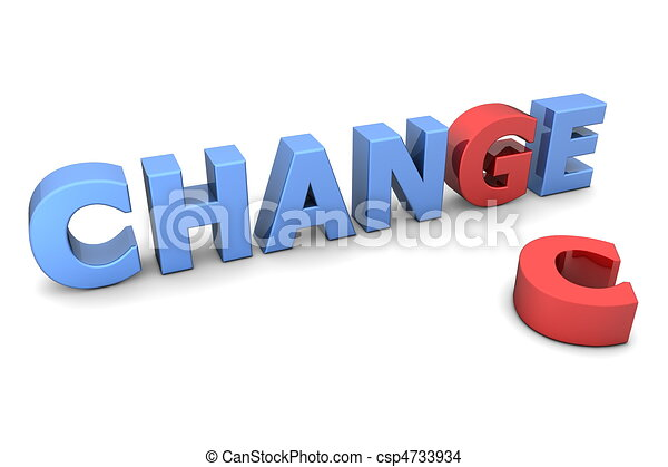 Chance to Change - Red and Blue - csp4733934