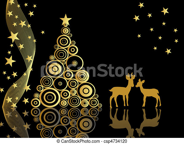 advent, animal, art, backdrop, back - csp4734120