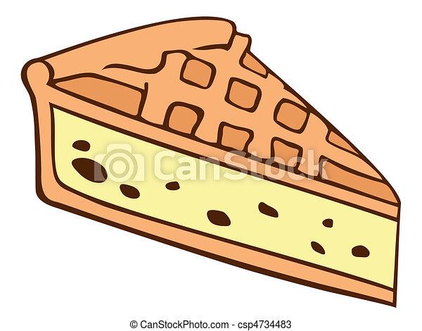 Cartoon Cake Slice Pictures