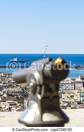 Genoa, Italy - csp47346155