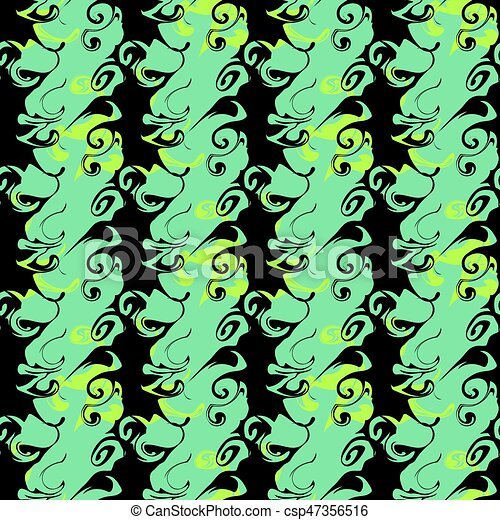 Graffiti Background Urban art seamless pattern - csp47356516