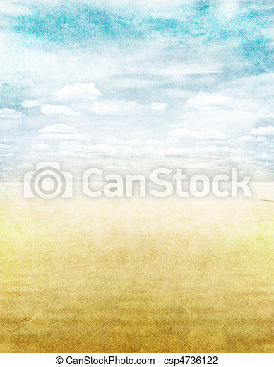 Seascape with Texture - csp4736122