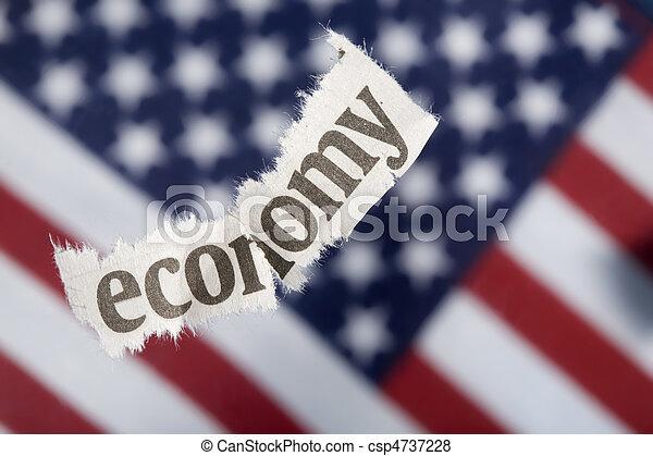 Economic Recession - csp4737228