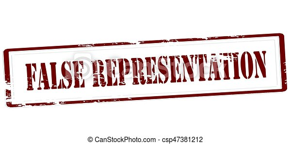False representation - csp47381212