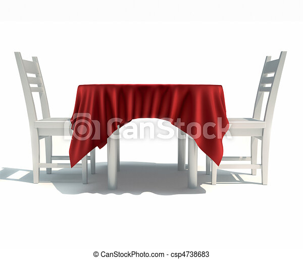 drawings of dining table and chairs this is a 3d render illustration