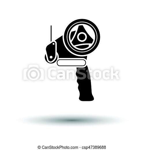 Scotch tape dispenser icon - csp47389688