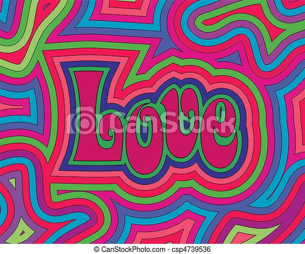 Groovy Love - csp4739536