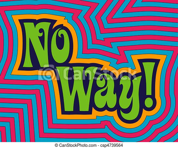 No Way! - csp4739564