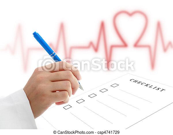 Cardiologist. - csp4741729