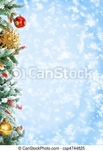 Christmas Tree - csp4744825