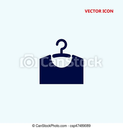 Kleiderständer clipart  Vektor von kleidung, vektor, kleiderbügel, ikone - kleiderständer ...