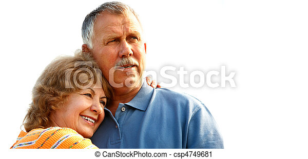 elderly couple - csp4749681