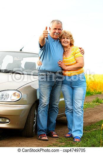 Elderly couple - csp4749705