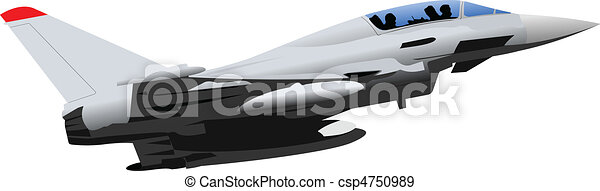 Vector combat aircraft - csp4750989