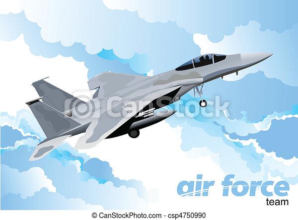 Vector combat aircraft - csp4750990