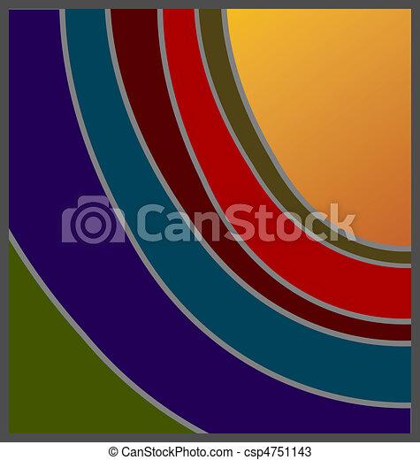 Shades of Sunset - csp4751143