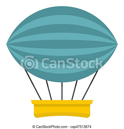 Aerial transportation icon isolated - csp47513674