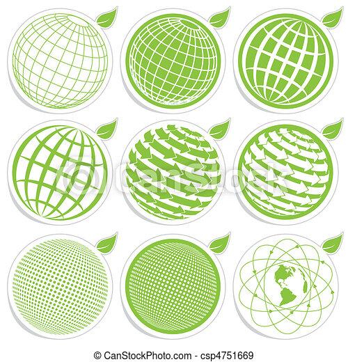 icon globe - csp4751669