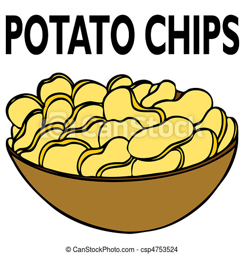 Potato Chips - csp4753524