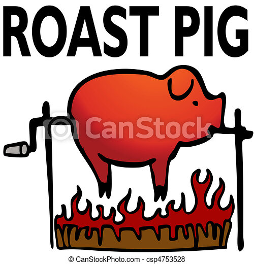 Roasted Pig - csp4753528