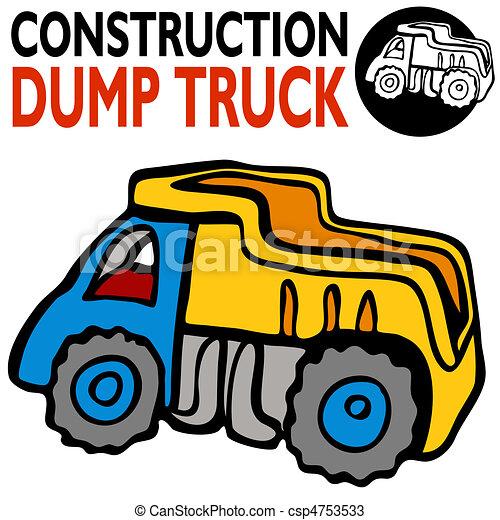 Dump Truck - csp4753533