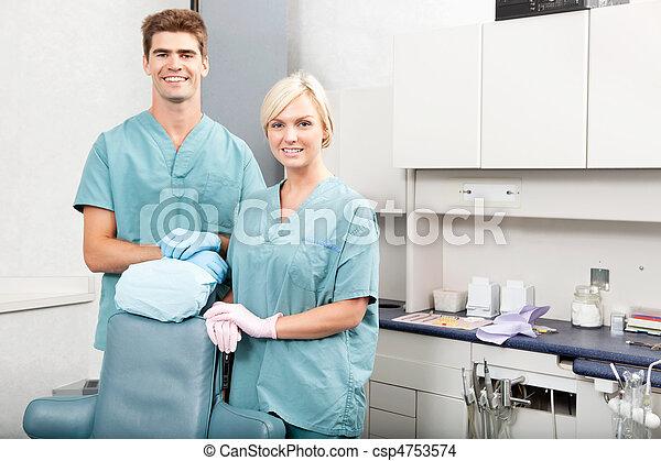 Dental Team - csp4753574