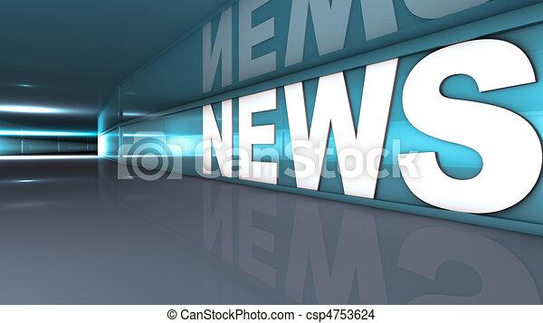 News text - csp4753624
